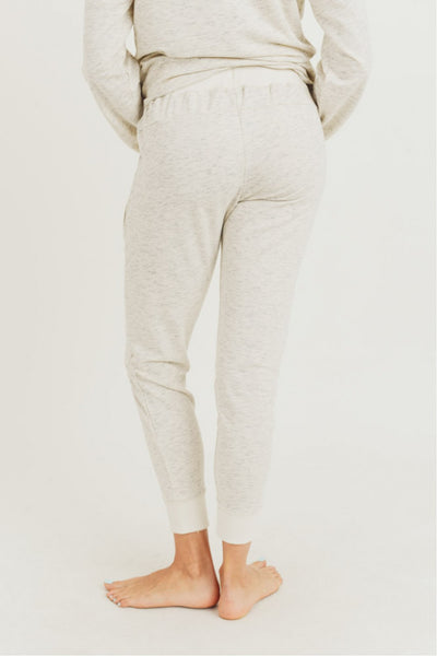 Melange Terry Knit Sweatpants