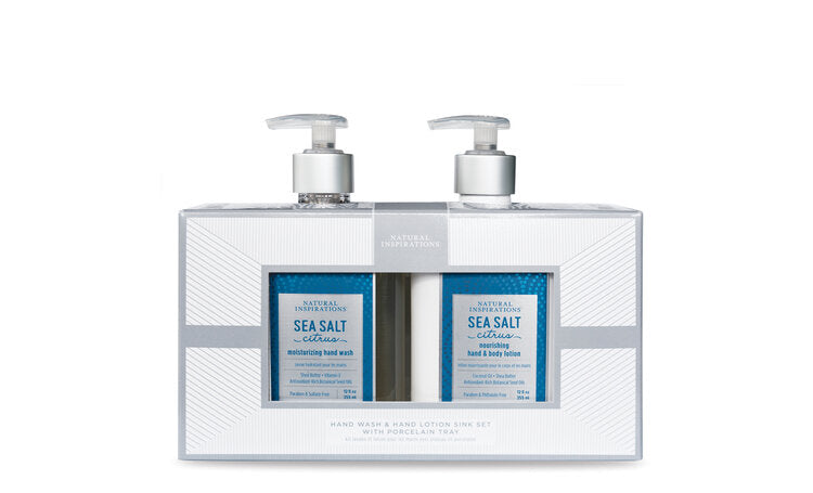 Hand Wash & Hand Lotion Sink Set