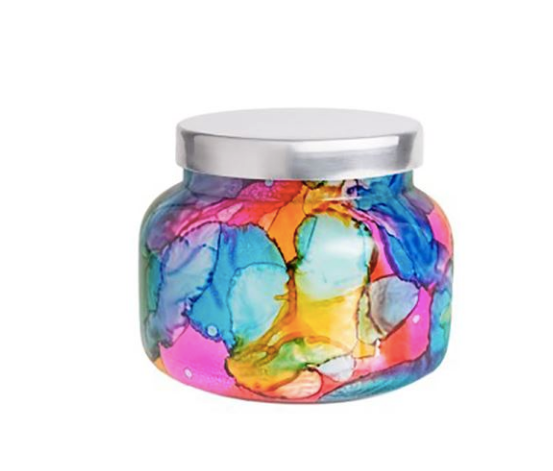 Cactus Flower Watercolor Jar