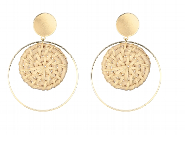 Dakota Gold Earring