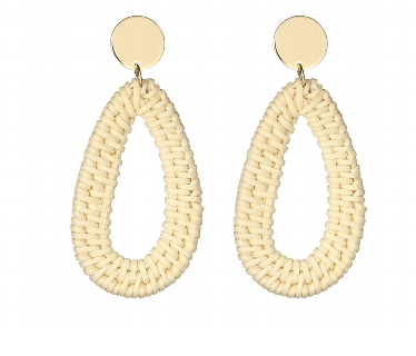 Dakota White Earring