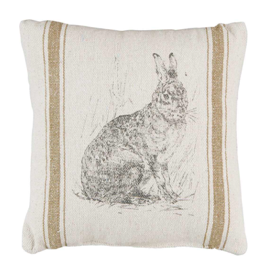 Brown Hare Pillow