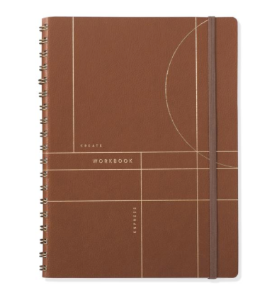 Leather Spiral Notebook