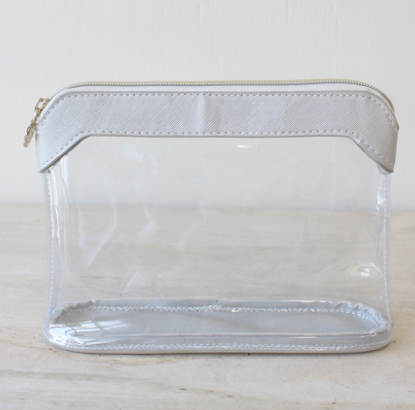 Charlotte Clear Cosmetic Bag