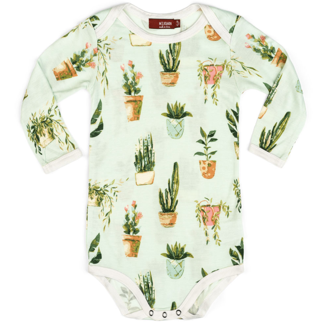 Bamboo Potted Plant Onesie