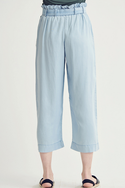 Light Denim Tencel Pants
