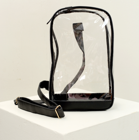 Black Clear Sling Pack