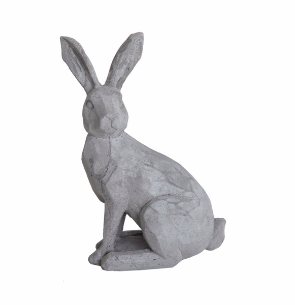 "8""H Cement Rabbit"