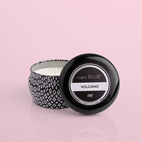 Volcano Signature Mini Tin Candle