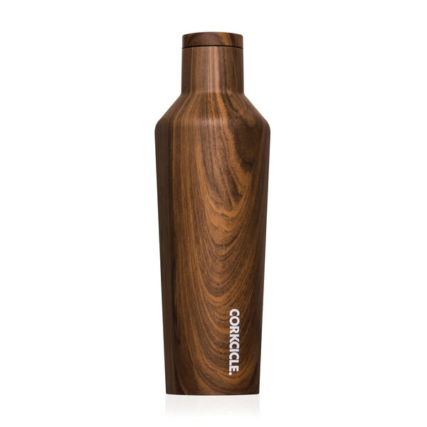 Canteen 16 OZ Patterns Walnut Wood