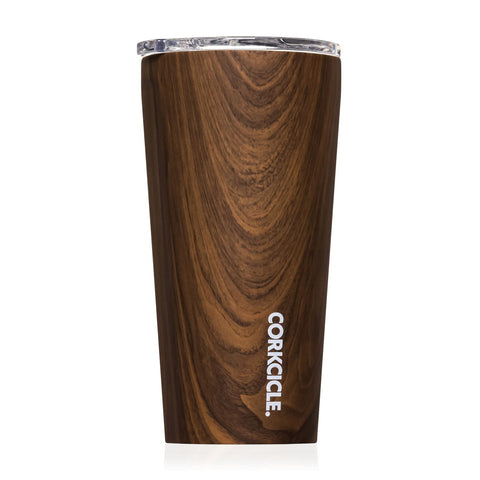 Tumbler 16 OZ Patterns Walnut Wood
