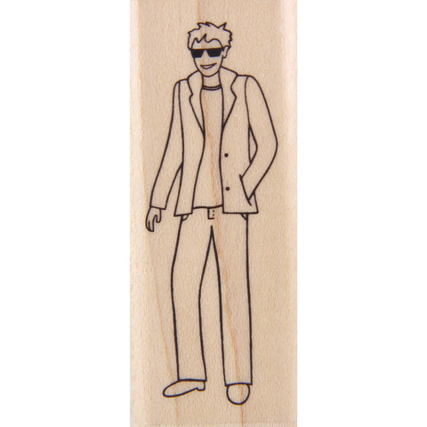 wood stamp - edward