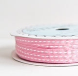 grosgrain stitch - bubblegum - 32.5 yard bolt