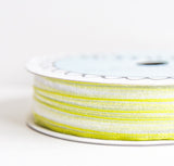 organdy sheer - lime