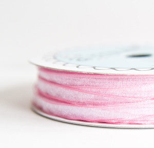 organdy sheer - bubblegum - 54 yard bolt