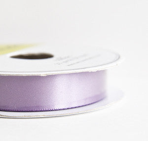 satin ribbon - heather