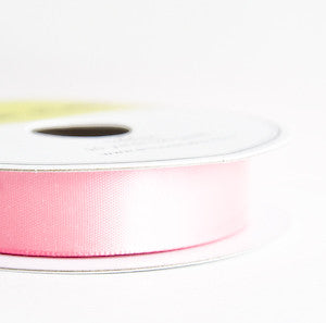 satin ribbon - bubblegum