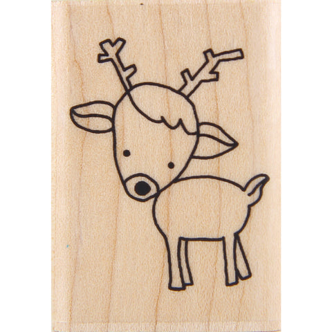 wood stamp - mb rudolph