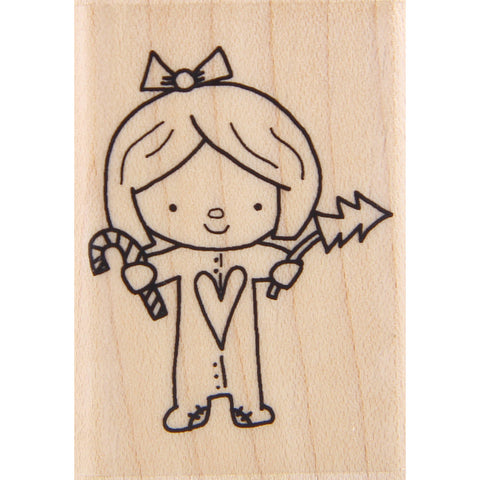 wood stamp - mb cindy loo