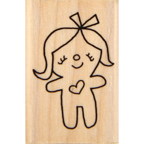 wood stamp - mb dolly