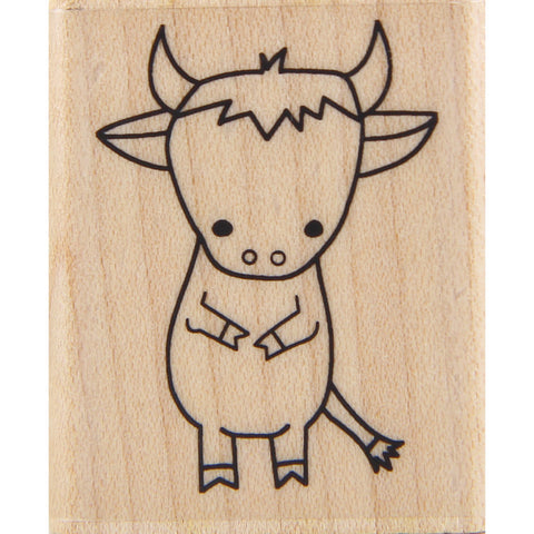 wood stamp - mb ox