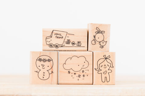 wood stamp set - missy's bundle 1
