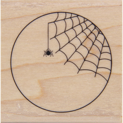 wood stamp - spider tag