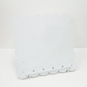 enamel noteboard - white