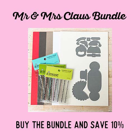 mr & mrs claus bundle