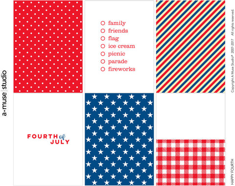 Happy Fourth - June Freebie