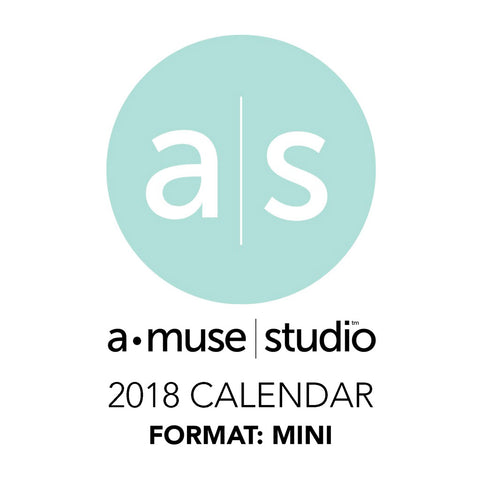 A Muse Studio 2018 Printable Calendars for Charity - mini