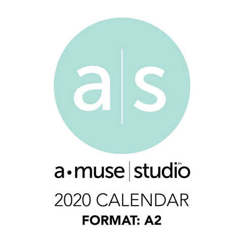 A Muse Studio 2020 Printable Calendars - A2
