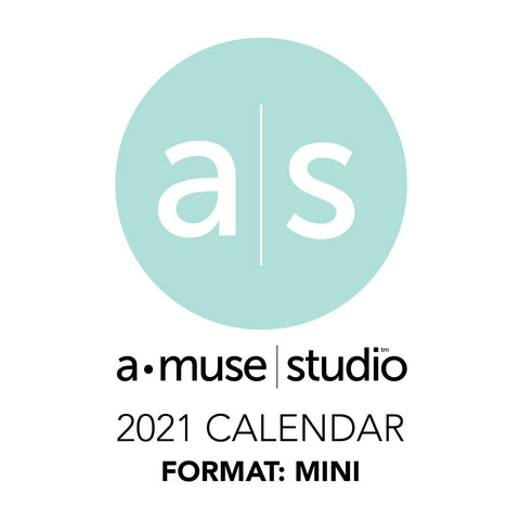 A Muse Studio 2021 Printable Calendars - mini