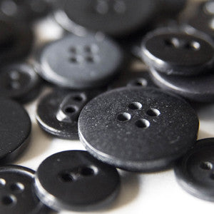 buttons - onyx