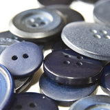 buttons - navy
