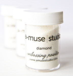 embossing powder - diamond