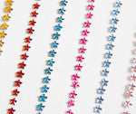a|s twinkle stickers - mini stars, multi