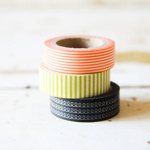 washi tape - halloween assortment