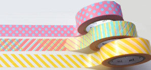 washi tape - celebration trio