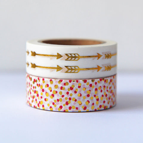 washi tape - dots & arrows duo
