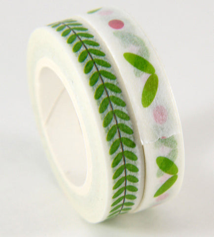 washi tape - slim spring duo