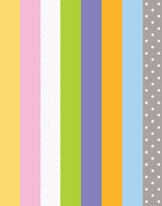 a|s cardstock - easter collection