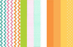 a|s cardstock - spring chick mini paper pack