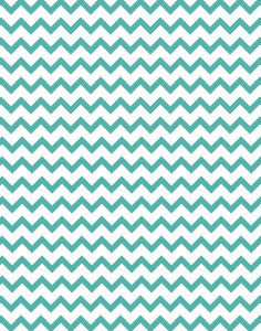 a|s cardstock - chevron mermaid