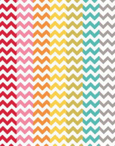 a|s cardstock - chevron assorted