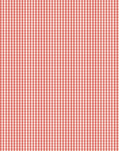 a|s cardstock - gingham cherry