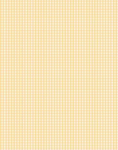 a|s cardstock - gingham buttercup