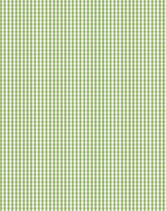 a|s cardstock - gingham grass