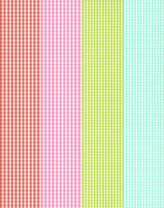 a|s cardstock - gingham assortment