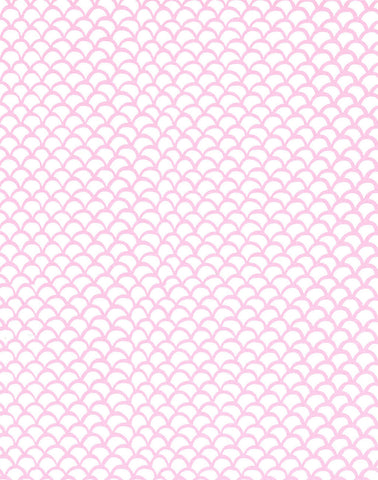 a|s cardstock - scallops cotton candy